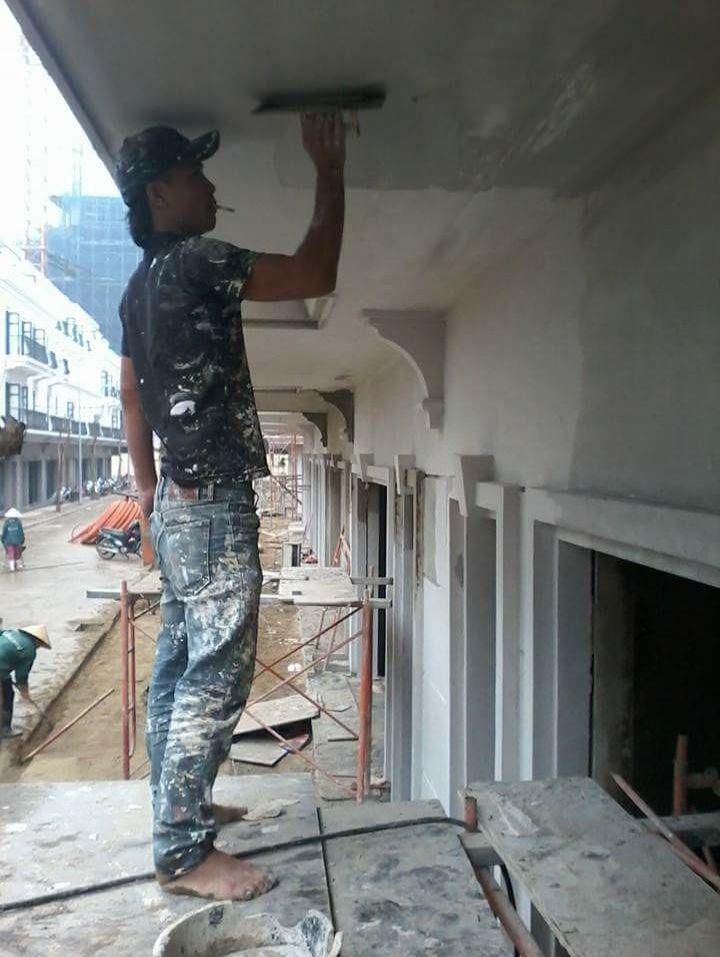 Thi công nhà phố 3 tầng tại Thanh Xuân - Hà Nội