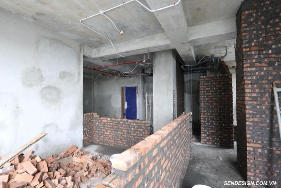 Kiểm tra công trình thiết kế cải tạo nội thất biệt thự