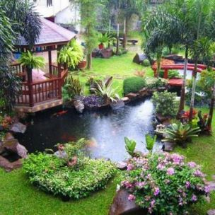 Tiểu cảnh sân vườn Duy Hưng