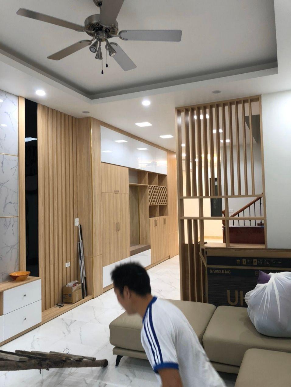 Thi công nội thất nhà phố tại Hoàng Mai, Hà Nội