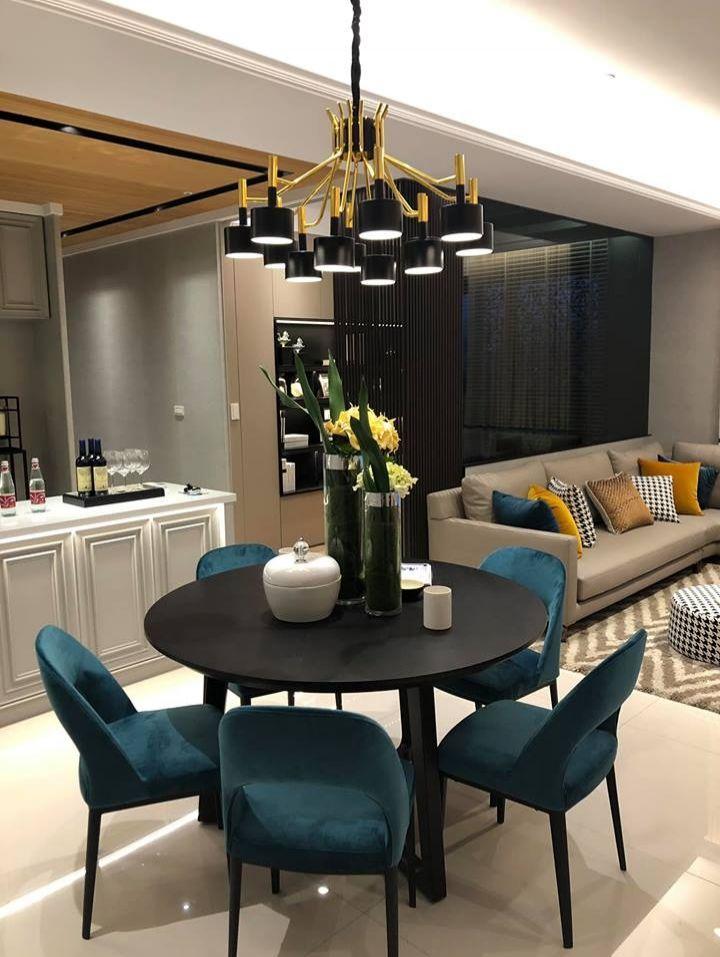 Mẫu nội thất sử dụng gam màu tối giản cho căn hộ chung cư