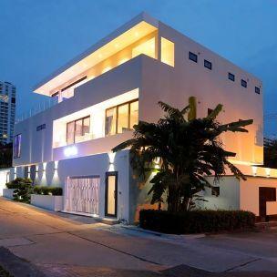 Kiến trúc hiện đại nhà xanh