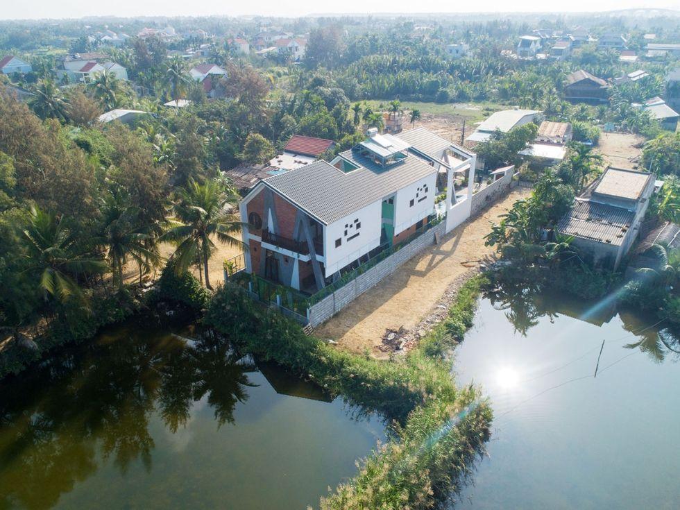 Biệt thự nghỉ dưỡng Cẩm Thanh A&A Villa thu hút khách du lịch