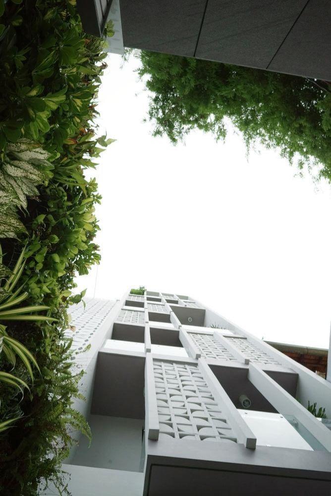 Thiết kế nhà phố 7 tầng tại Hoàng Mai, Hà Nội