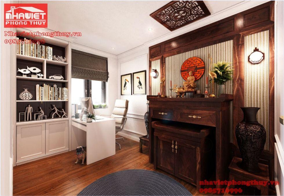 Nội thất hiện đại cho căn hộ chung cư 90m2