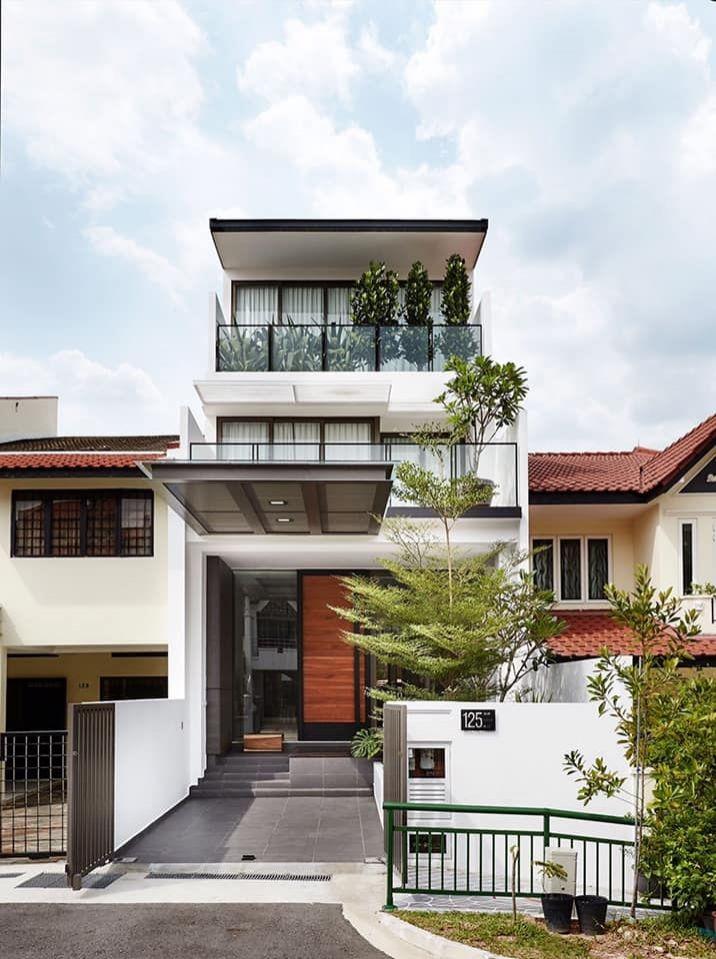 Lưu ý khi thiết kế hành nhà phố để được vượng trạch