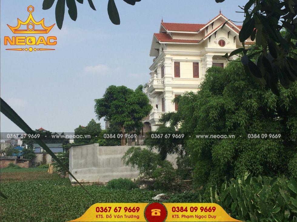Biệt thự 4 tầng 120m2 tại huyện Yên Mỹ tỉnh Hưng Yên