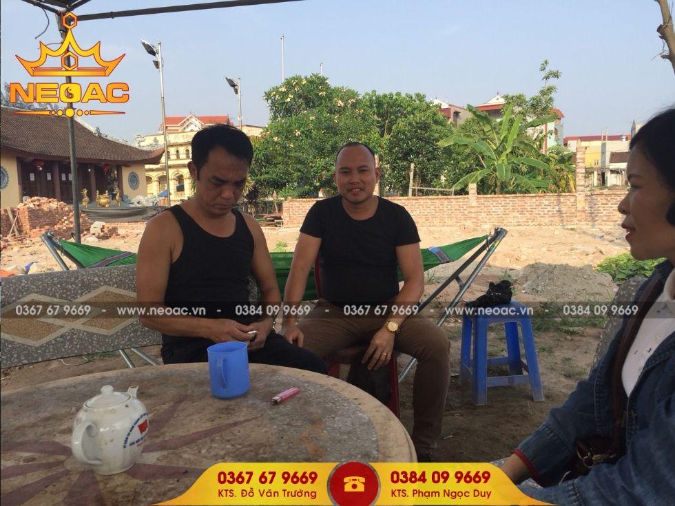 Triển khai dự án nhà 5 gian tại Hưng Yên