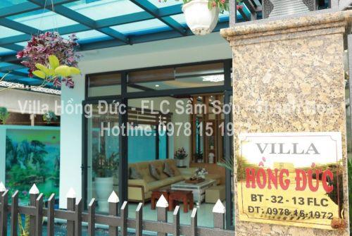 Cho thuê Villa flc sầm sơn chính chủ Villa Hồng Đức FLC Sầm Sơn