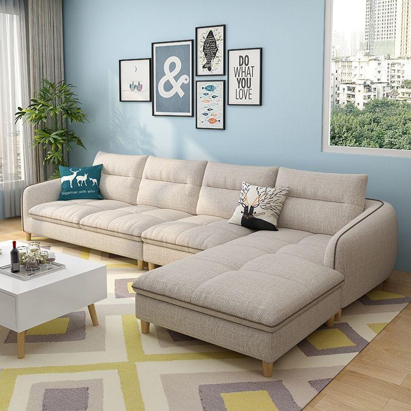 Mẫu ghế sofa góc thông minh cho phòng khách hiện đại