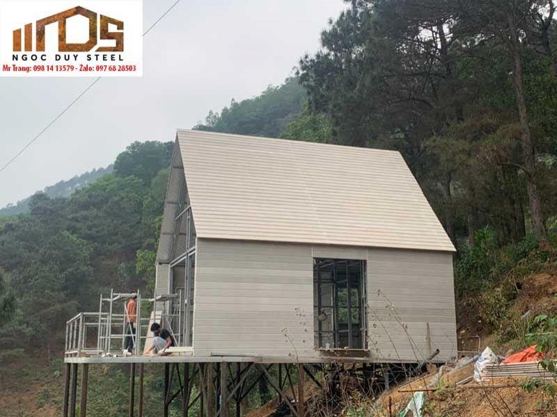 Nhà khung thép homstay tại Đồng Đò - Sóc Sơn